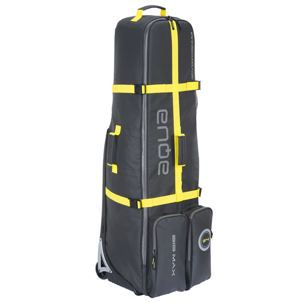 BIG MAX Aqua EZ Roller Travelcover, black-yellow