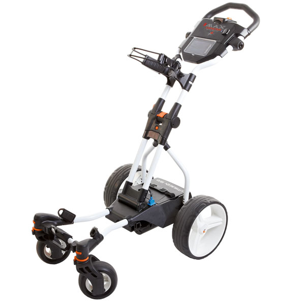 BIG MAX Coaster, electric trolley, white