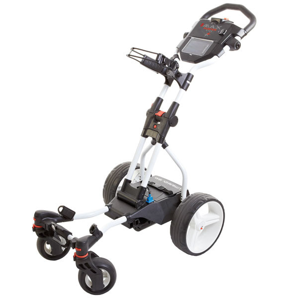 BIG MAX Hunter Quad, electric trolley, white