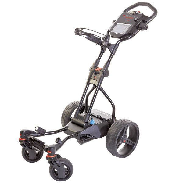 BIG MAX Hunter Quad, electric trolley, black