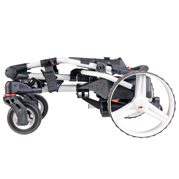 BIG MAX Hunter Quad, electric trolley, folded