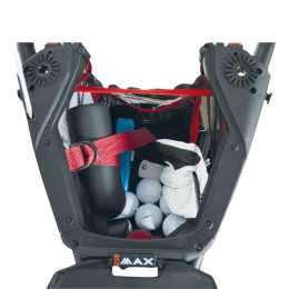 BIG MAX IQ+ Push Trolley, accessories pouch