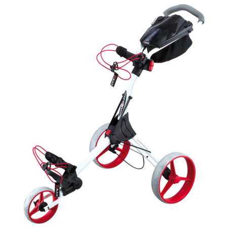 BIG MAX IQ+ Push Trolley, white-red