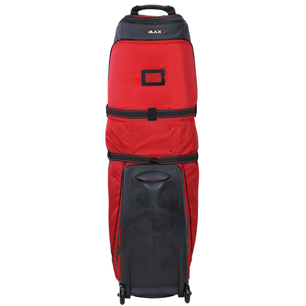 BIG MAX Wheeler 3 Travelcover, red, backside