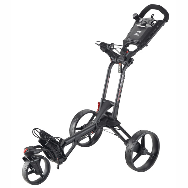 BIG MAX Z360 Push Trolley, black