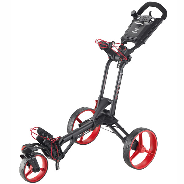 BIG MAX Z360 Push Trolley, black-red