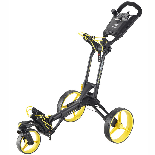BIG MAX Z360 Push Trolley, black-yellow