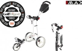 BIG MAX Autofold FF, Golf Digest Award 2016, best push trolley