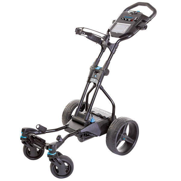 BIG MAX Navigator Quad electric trolley, black