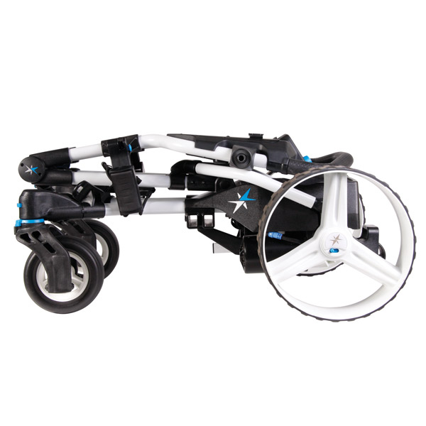 BIG MAX Navigator Quad electric trolley, folded
