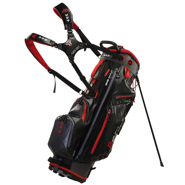 BIG MAX DriLite G black charcoal red