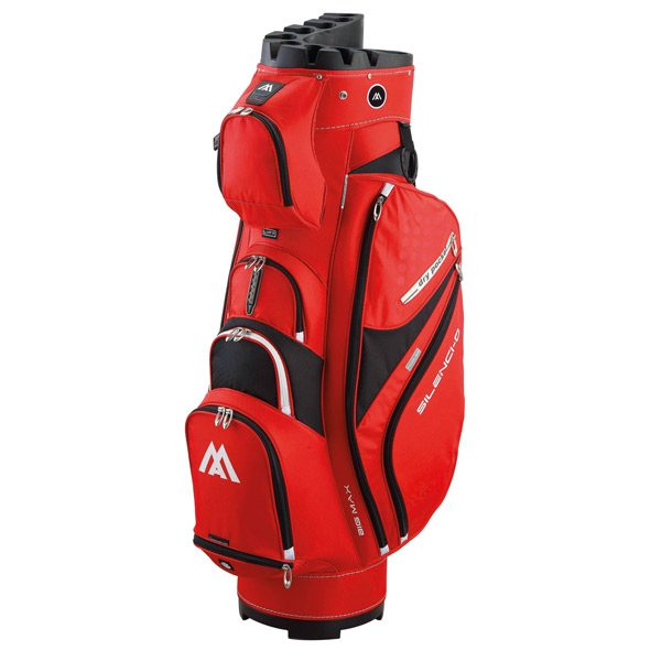 BIG MAX Silencio 2 Cartbag red-black
