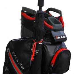 BIG MAX DriLite Cart Bag Umbrella holder