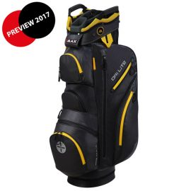 BIG MAX Dri LITE Cart Bag Charcoal-orange
