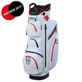 BIG MAX Dri LITE Cart Bag White-red