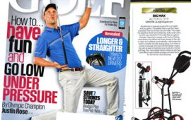 GOLF Magazine November Autofold FF