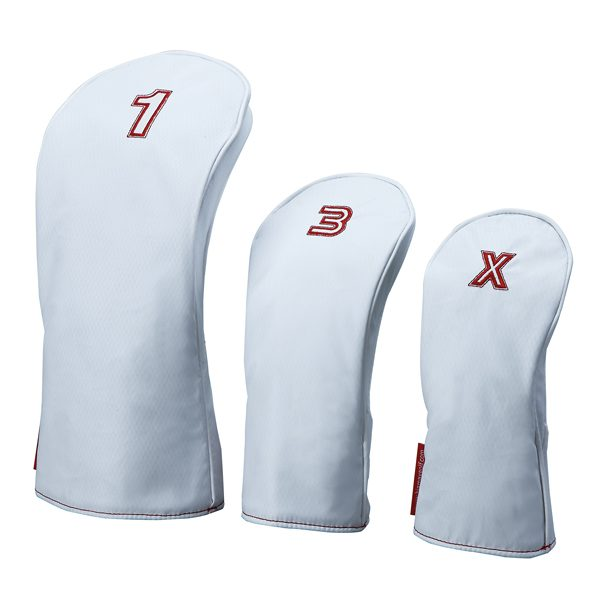 BIG MAX Headcover white-red