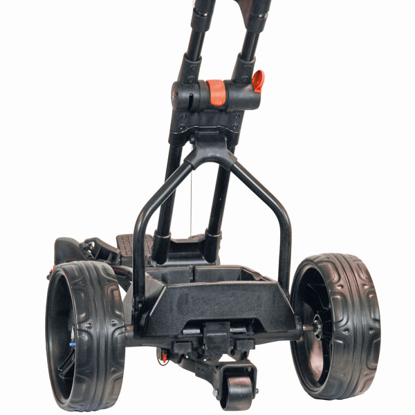 BIG MAX Navigator Quad electric trolley, handle