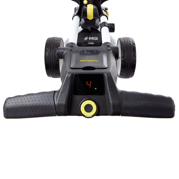 BIG MAX Terrain electric trolley, handle