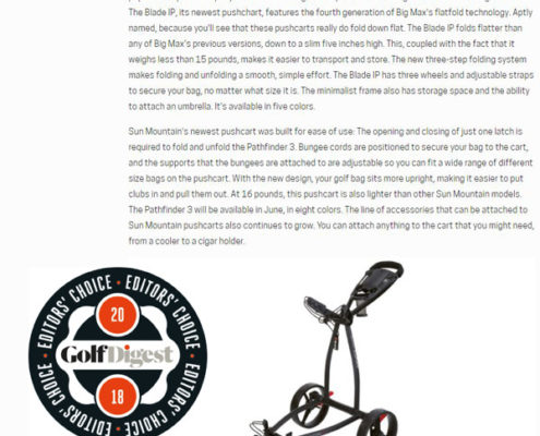 Golfdigest-blade-IP-award